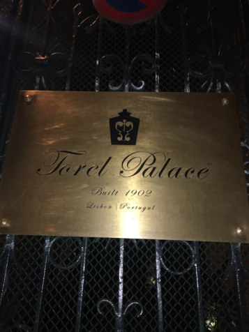 Torel Palace sign