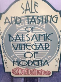 Balsamic vingear Modena