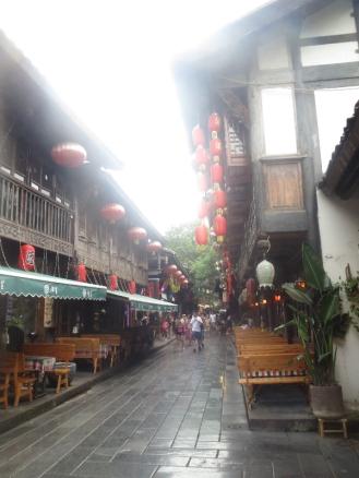 old alleyway