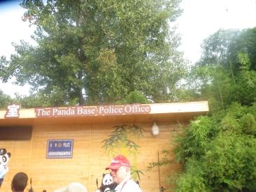 Panda base police office