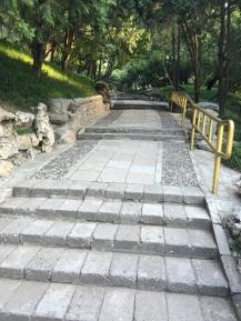 summer palace walkway