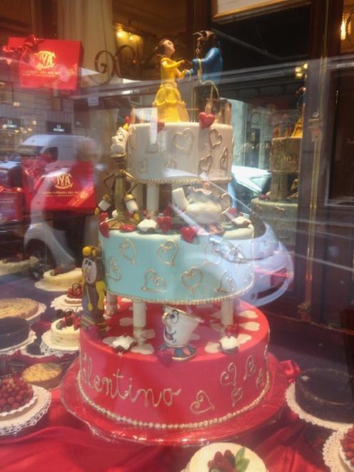 wacky cake milan