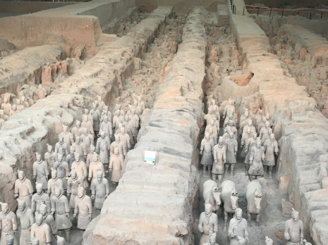 Xian soldiers
