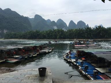 Yang Li River boats