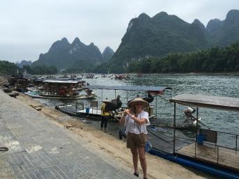 Yang Mona by boat
