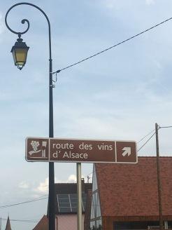 Alsace route