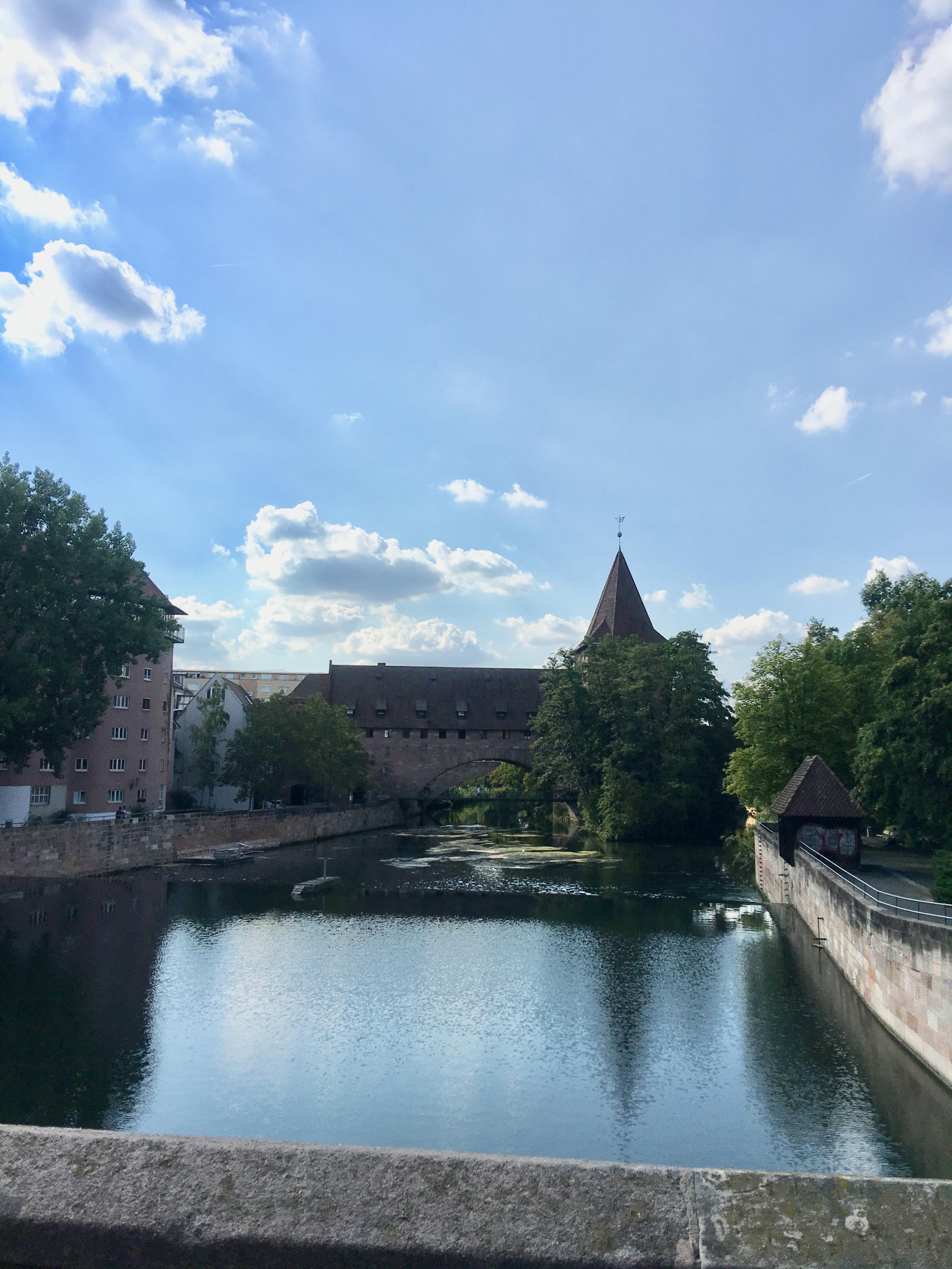 Nuremberg in Germany: Medieval town with history.